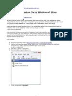 Menjalankan Game Windows Di Linux