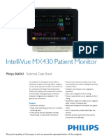 Intellivue MX430  TDS