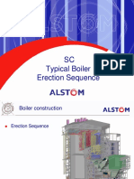 Typical Boiler Erection Sequence
