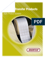 IDENTCO - Thermal Transfer Products Catalog (Asia)