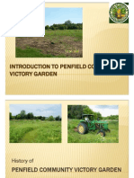 Penfield Victory Community Garden Slide Show