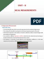 Mechanical Measurment_no video