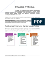 HRM Research - Performance Appraisal