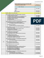 2020 Plenary Schedule as of November 15
