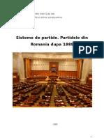 sisteme de partide