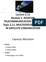 L33 MULTISTATION ACCESS IN SATELLITE COMMUNICATION