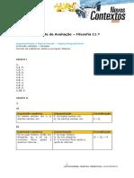 Teste Filosofia 11.º - Lógica Proposicional - Correção2