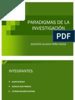 PARADIGMAS DE LA INVESTIGACIÓN