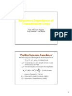Lecture 2 Sequence Impedance of Transmission Lines