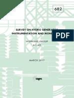 682 Survey On Hydro Generator Instrumentation And Monitoring