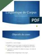 Linguistique de Corpus. Elisabeth DELAIS-ROUSSARIE