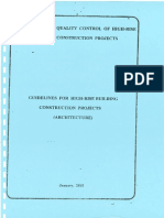 12. CQHP Guidelines on Architectural Work