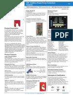 Additive Foam Pump Controller