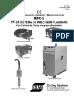 Manual de Instalación, Operación y Mantenimiento del IEFC-S