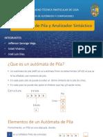 Automatas de Pila y Analizador Sintáctico