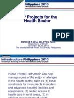 DOH Infrastructure Philippines 2010 Summit Presentation