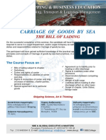 CARRIAGE OF GOODS BY SEA - THE BILL OF LADING.pdf
