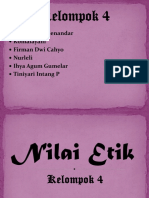 ETIKA 4 - Nilai Etik