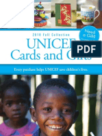 2010 UNICEF Cards and Gift Catalog