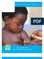 2010 UNICEF Inspired Gift Catalog