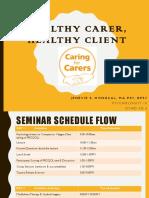 Caring for Carers Seminar