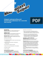 MAPEI superplast