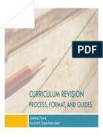 2015 Curriculum Writing Presentation