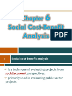 Ch 06- Social Cost-Benefit Analysis