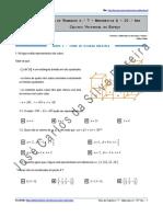Ficha de Trabalho n.º 7 - Cálculo Vectorial No Espaço