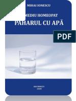 Remediu homeopat_PAHARUL CU APA_2020_Capitolul I