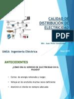 Calidad de Distribucion de Electricidad 2019 J.V.AMONZABEL