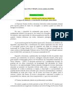 Informativo STF nº 955 (07 a 11 de outubro de 2019)