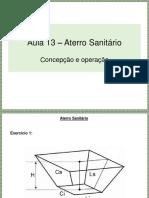 Aula 13 - Aterro sanitário.pdf