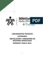 13 LINEAMIENTOS TECNICOS CATEGORIA INSTALACION Y HARDENING DE SISTEMAS OPERATIVOS