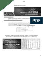 coordenadas pilar