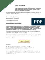 DIFERENTES TIPOS DE POTENCIAS