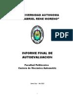 ELABORACION DEL INFORME FINAL MECANICA AUTOMOTRIZ REV 00.doc