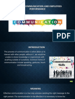 Effective communication and employee performance-converted