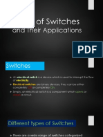 Types of Switches and their Applications
