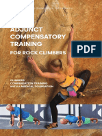 ADJUNCT COMPENSATORY TRAINING FOR ROCK CLIMBERS
