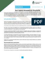 Coronavirus Alerta Epidemiológica Argentina