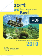 2010 Report Card for the Mesoamerican Reef