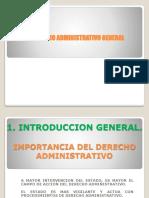 Importancia Del Derecho Administrativo