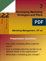 Developing marketing strategies and Plans Week_6