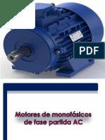 2.1 Funcionamiento de Motores monfásicos AC