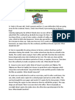 Problem-Solving-5 Scenarios-