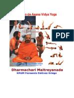 Posturas y Contraposturas YOGA ASANA VIDYA de Dharmachari Maitreyananda (GMdM:. Grand Maestro de Maestros de Yoga)