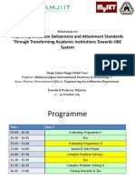 Improving Education Deliverance and Attainment Standards Through Transforming Academic Institutions Towards OBE System.ppt