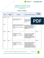 Plan de Trabajo 3° cohorte