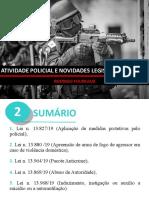 Atividade Policial e Novidades Legislativas